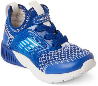 Geox Kids Boys) Royal Sveth Mesh Slip-On Sneakers