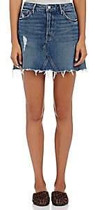 GRLFRND Women's Eva Short A-Line Skirt - Md. Blue