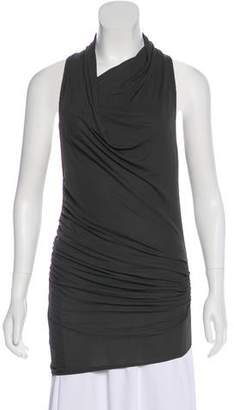 Helmut Lang Tonal Sleeveless Top