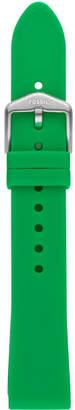 Fossil Unisex Sport Emerald Green Silicone Smart Watch Strap