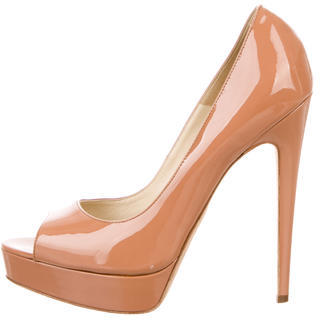 Brian Atwood Peep-Toe Platform Pumps $125 thestylecure.com
