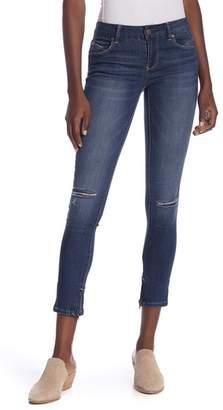1822 Denim Ankle Zipper Skinny Jeans