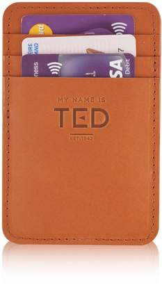 Tuscan Tan My Name Is TED - Magic Wallet With Luxury Suede