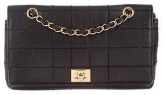 Chanel Caviar Square Quilt Flap Bag