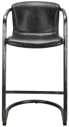 Moe's Home Collection Freeman Barstool Antique Black