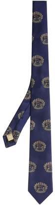Burberry Slim Cut Archive Crest Tie