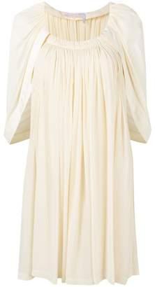 Chloé cape sleeve shift dress