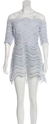 Lela Rose Short Sleeve Mini Dress w/ Tags