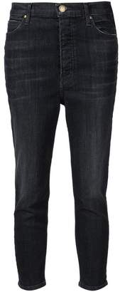 The Great high rise cropped jeans