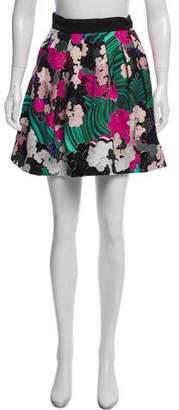 Mary Katrantzou Silk-Blend Mini Skirt w/ Tags