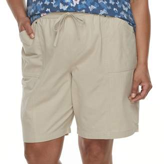 Croft & Barrow Plus Size Drawstring Shorts