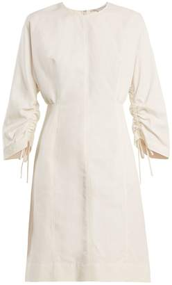 Stella McCartney Round-neck cocoon long-sleeved dress