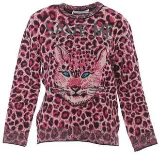 Alberta Ferretti Leopard Print Sweater