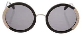 Balmain Round Tinted Sunglasses