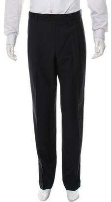 Cerruti Woven Pleated Pants