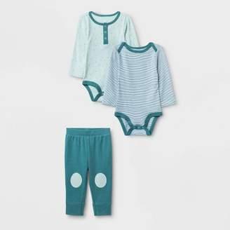 Cloud Island Baby Boys' 2pk Boutique Layette Set - Cloud Island Blue