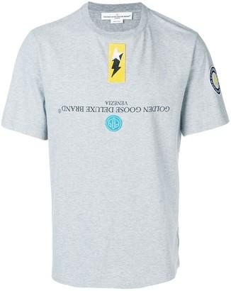 Golden Goose patch-embellished T-shirt