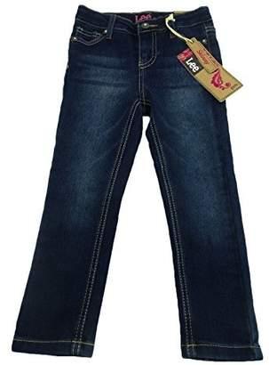 Lee Little Girls' Skinny Leg Super Stretch Adjustable Jean Pants