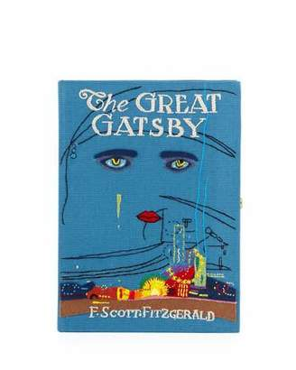 Olympia Le-Tan The Great Gatsby Book Clutch Bag