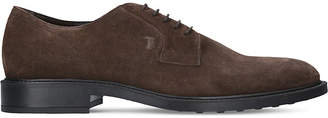 Tod's Tods Derby suede shoes