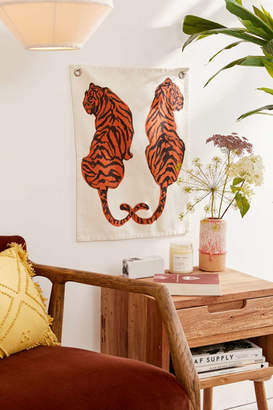 Tiger Flag Tapestry