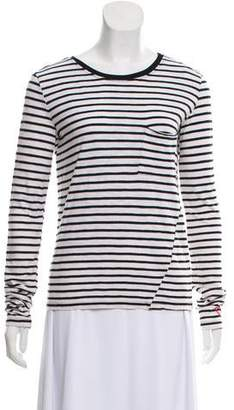 Pam & Gela Long Sleeve Striped Top
