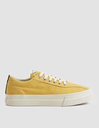 S.W.C. Dellow Canvas Sneaker in Dusty Yellow