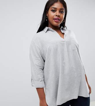 Asos New Look Plus New Look Curve Overhead Shirt
