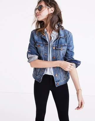 The Jean Jacket in Pinter Wash $118 thestylecure.com