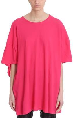 Laneus Ruffles Fucsia T-shirt