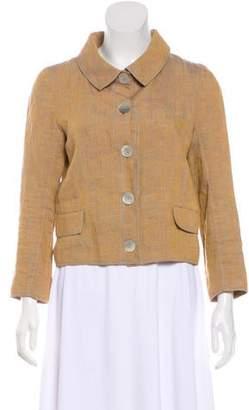 Proenza Schouler Long Sleeve Button-Up Blouse