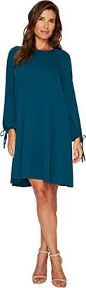 Karen Kane Women's Tie-Sleeve Swing Dress