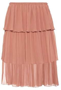 See by Chloe Tiered knee-length skirt
