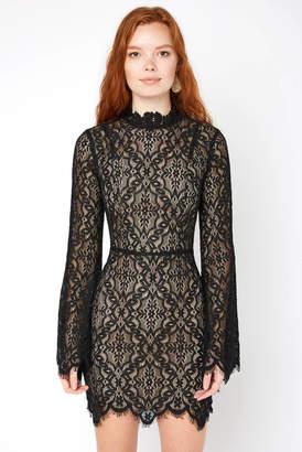 Ryse RYSE Carson Lace Bell Sleeve Mini Dress