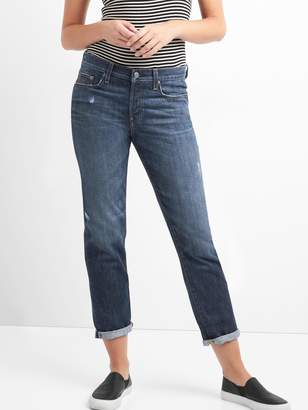 Gap Mid Rise Relaxed Boyfriend Jeans in TENCEL