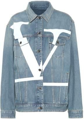 Valentino VLOGO denim jacket