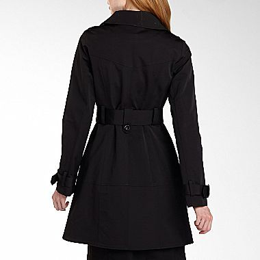 JCPenney Worthington® Contrast Trench Coat