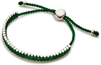 Links of London Mini Friendship Bracelet in Emerald Green