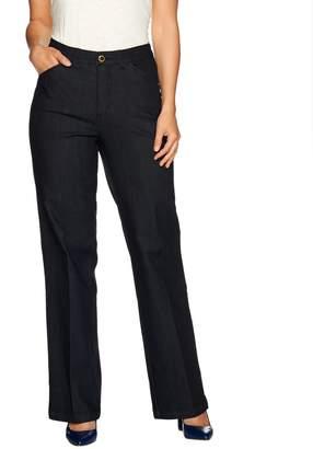 C. Wonder Regular Full Length Wide Leg Jeans