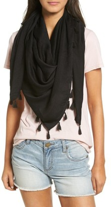 Women's Hinge Open Stitch Panel Wrap $29 thestylecure.com