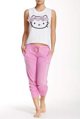 Hello Kitty Varsity Brights Leggings $26 thestylecure.com