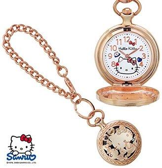 SANRIO (サンリオ) - SANRIO サンリオ KITTY キティ 透かし懐中ウォッチ 人気キャラクターの可愛い時計 キティ SR-M02-KT
