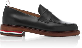 Thom Browne M'O Exclusive Leather Loafers