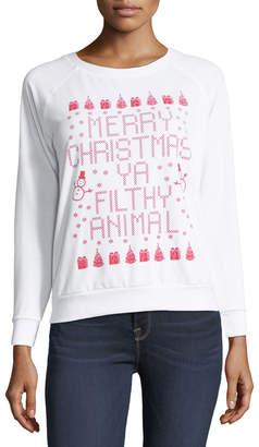 Prince Peter Collection Merry Christmas Ya Filthy Animal Sweatshirt