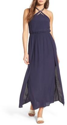 Women's Lush Woven Maxi Dress $59 thestylecure.com