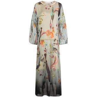 Klements - Dusk Dress In Rainbow Trout Print