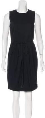 Hache Sleeveless Knee-Length Dress