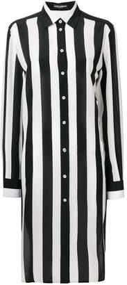Dolce & Gabbana striped longline shirt
