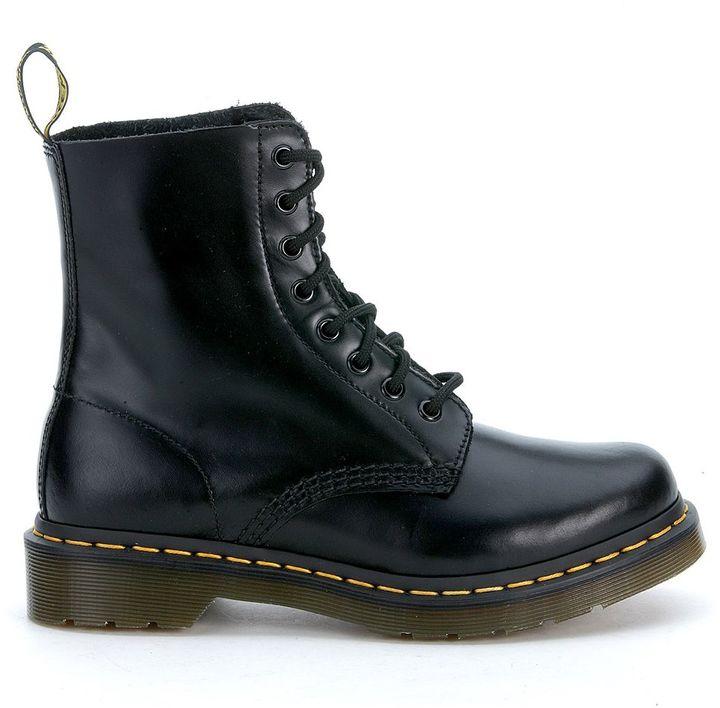 Dr. MartensDr Martens Soft Black Leather Ankle Boots 8 Eyelets