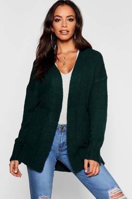 boohoo Cardigan With Pockets